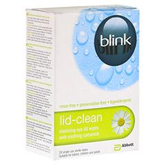 BLINK lid-clean Reinigungstücher für Augenlider 20 Stück