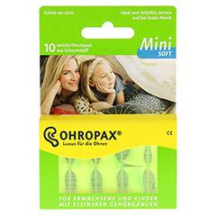 OHROPAX mini soft Schaumstoff Stöpsel 10 Stück - Vorderseite
