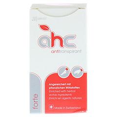 AHC forte Antitranspirant flüssig 30 Milliliter - Vorderseite