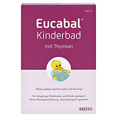 EUCABAL Kinderbad mit Thymian 130 Milliliter - Vorderseite