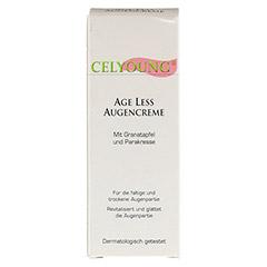 CELYOUNG age less Augencreme Granatapfel 15 Milliliter - Vorderseite