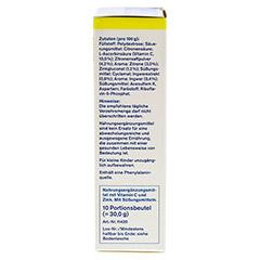 TETESEPT heiße Zitrone mit Ingwer zuckerfr.Pulver 10x3 Gramm - Linke Seite