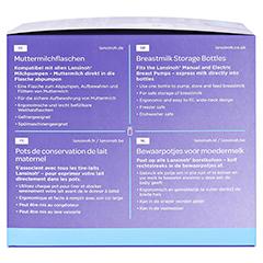 LANSINOH Muttermilchflaschen 160 ml Weithals 4 Stück - Rechte Seite
