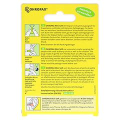 OHROPAX mini soft Schaumstoff Stöpsel 10 Stück - Rückseite