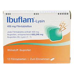 Ibuflam-Lysin 400mg 12 Stück N1 - Rückseite