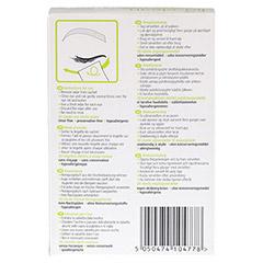 BLINK lid-clean Reinigungstücher für Augenlider 20 Stück - Rückseite