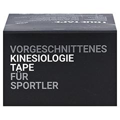 TRUETAPE Athlete Edition Precut schwarz 1 Stück - Oberseite