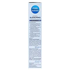 PERLWEISS Dental Bleaching Kombipackung 2x10 Milliliter - Linke Seite