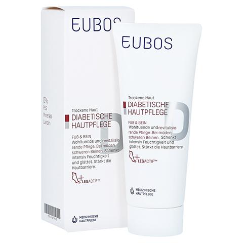 Eubos Diabetische Haut Pflege Fuß + Bein Creme 100 Milliliter