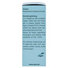 CANNABIS-ÖL 10% Canea Premium 10 Milliliter - Linke Seite