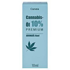 CANNABIS-ÖL 10% Canea Premium 10 Milliliter - Vorderseite