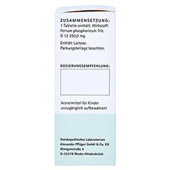 BIOCHEMIE Pflüger 3 Ferrum phosphoricum D 12 Tabl. 100 Stück N1 - Linke Seite