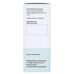BIOCHEMIE Pflüger 3 Ferrum phosphoricum D 12 Tro. 100 Milliliter N2 - Linke Seite