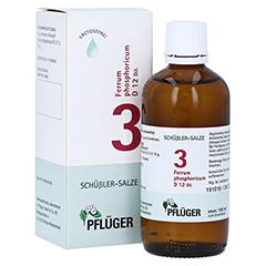BIOCHEMIE Pflüger 3 Ferrum phosphoricum D 12 Tro. 100 Milliliter N2