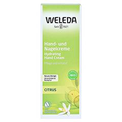 WELEDA Citrus Hand- und Nagelcreme 50 Milliliter - Vorderseite