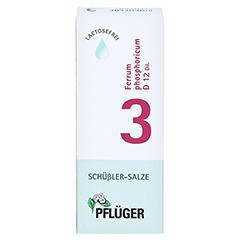 BIOCHEMIE Pflüger 3 Ferrum phosphoricum D 12 Tro. 30 Milliliter N1 - Vorderseite