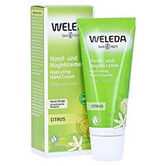 WELEDA Citrus Hand- und Nagelcreme 50 Milliliter