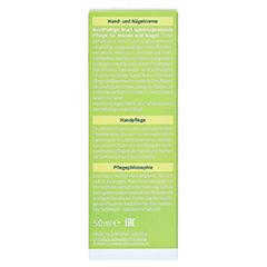 WELEDA Citrus Hand- und Nagelcreme 50 Milliliter - Rückseite