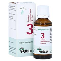 BIOCHEMIE Pflüger 3 Ferrum phosphoricum D 12 Tro. 30 Milliliter N1
