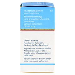 BIOCHEMIE DHU 12 Calcium sulfuricum D 6 Globuli 10 Gramm N1 - Linke Seite