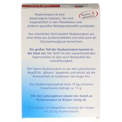 DOPPELHERZ Hyaluronsäure 25 mg Kapseln 30 Stück - Rückseite