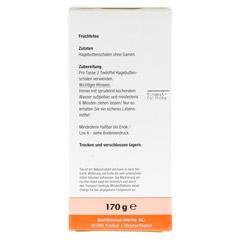 HAGEBUTTENSCHALEN ohne Samen 170 Gramm - Rückseite