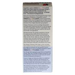 DOPPELHERZ Omega-3 Junior flüssig system 250 Milliliter - Rückseite