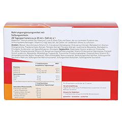 ASPECTON Immun Trinkampullen 28 Stück - Rückseite