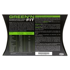GREEN'N FIT Trinkgranulat 20 Stück - Rückseite
