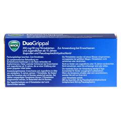 WICK DuoGrippal 200 mg/30 mg Filmtabletten 24 Stück - Rückseite