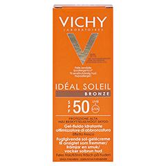 VICHY IDEAL SOLEIL BRONZE Ges.Gel LSF 50 50 Milliliter - Rückseite