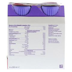 FORTIMEL Yoghurt Style Himbeergeschmack 4x200 Milliliter - Rückseite