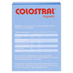 COLOSTRAL Kapseln 80 Stück - Rückseite