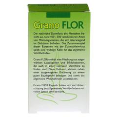 GRANOFLOR probiotisch Grandel Kapseln 60 Stück - Rückseite