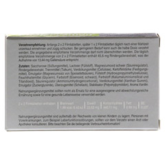 CHOLECYSMON Silberperlen 25 Stück - Rückseite