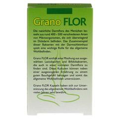 GRANOFLOR probiotisch Grandel Kapseln 30 Stück - Rückseite