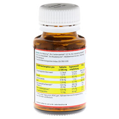 PREISEL SAN+C Bio Tabletten 90 Stück - Rückseite