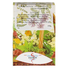 SCHWEDENKRÄUTER Tee 90.2 Gramm - Rückseite