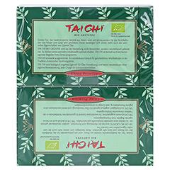 TAI CHI Bio Grüntee Maxi Filterbeutel 40 Stück - Rückseite
