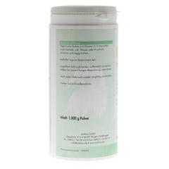 GLUTAMIN 100% Pur Pulver 1000 Gramm - Rückseite