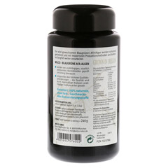 AFA ALGE 400 mg blaugrün Tabletten 600 Stück - Rückseite