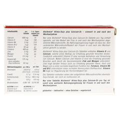 ALSIFEMIN Klima-Soja plus Calcium D3 Tabletten 30 Stück - Rückseite