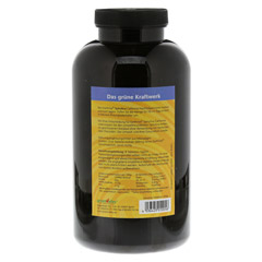 SPIRULINA EARTHRISE Nachfüllpackung Tabletten 1000 Stück - Rückseite