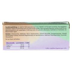 ZENTRAMIN classic Tabletten 50 Stück - Rückseite