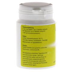 CILANTRIS Tabletten 120 Stück - Rückseite