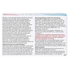 H&S Herz-und Kreislauftee 20 Stück - Rückseite