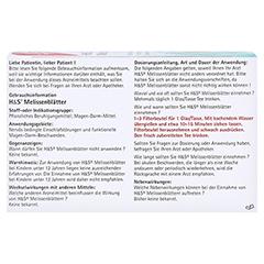 H&S Melissenblätter 20x1.5 Gramm - Rückseite