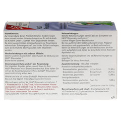 H&S Rheumatee 20 Stück - Rückseite