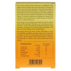 ALSIFEMIN Gelee Royal+Vit.E m.Ginseng Kapseln 60 Stück - Rückseite