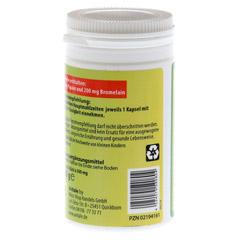 PAPAYA Ananas Enzym Kapseln 60 Stück - Rückseite